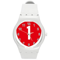 New Zealand State Highway 1 Round Plastic Sport Watch (m) by abbeyz71