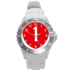 New Zealand State Highway 1 Round Plastic Sport Watch (l) by abbeyz71
