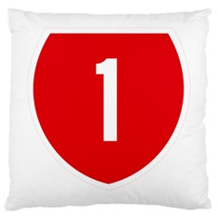 New Zealand State Highway 1 Large Cushion Case (one Side) by abbeyz71