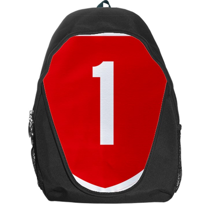 New Zealand State Highway 1 Backpack Bag