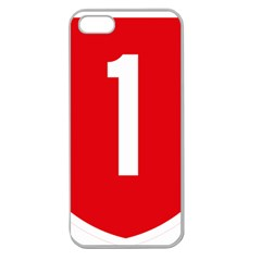 New Zealand State Highway 1 Apple Seamless iPhone 5 Case (Clear)