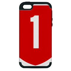 New Zealand State Highway 1 Apple Iphone 5 Hardshell Case (pc+silicone)