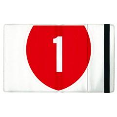 New Zealand State Highway 1 Apple Ipad 2 Flip Case