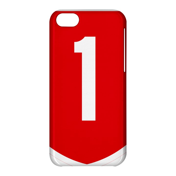New Zealand State Highway 1 Apple iPhone 5C Hardshell Case