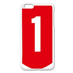 New Zealand State Highway 1 Apple Iphone 6 Plus/6s Plus Enamel White Case
