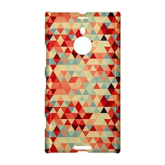 Modern Hipster Triangle Pattern Red Blue Beige Nokia Lumia 1520 by EDDArt