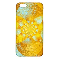 Gold Blue Abstract Blossom Iphone 6 Plus/6s Plus Tpu Case by designworld65