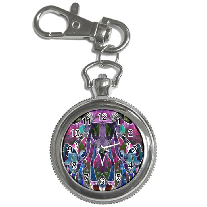 Sly Dog Modern Grunge Style Blue Pink Violet Key Chain Watches