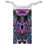 Sly Dog Modern Grunge Style Blue Pink Violet Jewelry Bags Front
