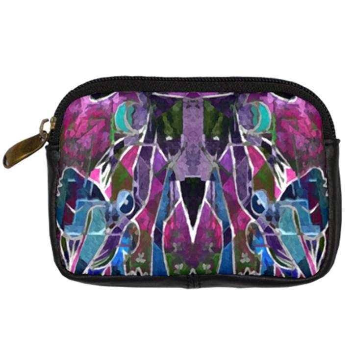Sly Dog Modern Grunge Style Blue Pink Violet Digital Camera Cases