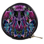Sly Dog Modern Grunge Style Blue Pink Violet Mini Makeup Bags