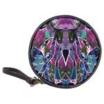 Sly Dog Modern Grunge Style Blue Pink Violet Classic 20-CD Wallets Front