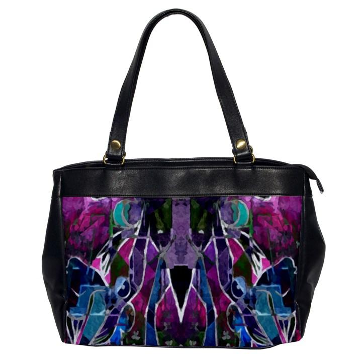 Sly Dog Modern Grunge Style Blue Pink Violet Office Handbags