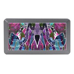 Sly Dog Modern Grunge Style Blue Pink Violet Memory Card Reader (mini) by EDDArt