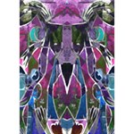 Sly Dog Modern Grunge Style Blue Pink Violet YOU ARE INVITED 3D Greeting Card (7x5) Inside