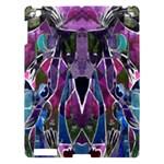 Sly Dog Modern Grunge Style Blue Pink Violet Apple iPad 3/4 Hardshell Case
