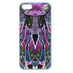 Sly Dog Modern Grunge Style Blue Pink Violet Apple Seamless iPhone 5 Case (Color)