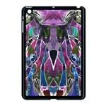 Sly Dog Modern Grunge Style Blue Pink Violet Apple iPad Mini Case (Black)