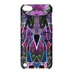 Sly Dog Modern Grunge Style Blue Pink Violet Apple iPod Touch 5 Hardshell Case with Stand