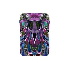 Sly Dog Modern Grunge Style Blue Pink Violet Apple Ipad Mini Protective Soft Cases