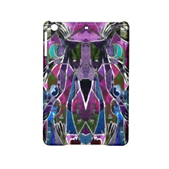 Sly Dog Modern Grunge Style Blue Pink Violet Ipad Mini 2 Hardshell Cases by EDDArt
