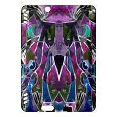 Sly Dog Modern Grunge Style Blue Pink Violet Kindle Fire Hdx Hardshell Case by EDDArt