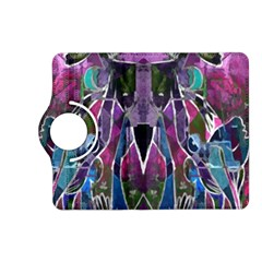 Sly Dog Modern Grunge Style Blue Pink Violet Kindle Fire Hd (2013) Flip 360 Case by EDDArt