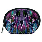 Sly Dog Modern Grunge Style Blue Pink Violet Accessory Pouches (Medium)