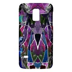 Sly Dog Modern Grunge Style Blue Pink Violet Galaxy S5 Mini by EDDArt
