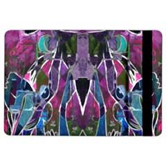 Sly Dog Modern Grunge Style Blue Pink Violet Ipad Air 2 Flip by EDDArt