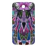 Sly Dog Modern Grunge Style Blue Pink Violet Samsung Galaxy Mega I9200 Hardshell Back Case