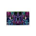 Sly Dog Modern Grunge Style Blue Pink Violet Cosmetic Bag (XS)