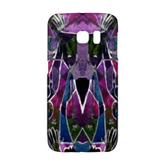Sly Dog Modern Grunge Style Blue Pink Violet Galaxy S6 Edge by EDDArt