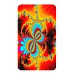Crazy Mandelbrot Fractal Red Yellow Turquoise Memory Card Reader Front