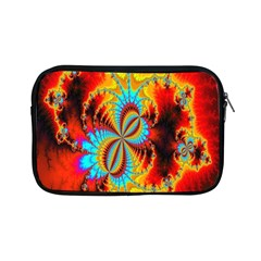 Crazy Mandelbrot Fractal Red Yellow Turquoise Apple iPad Mini Zipper Cases
