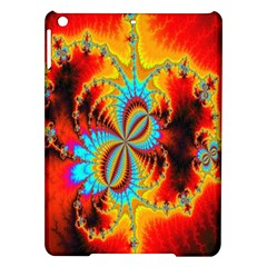 Crazy Mandelbrot Fractal Red Yellow Turquoise Ipad Air Hardshell Cases