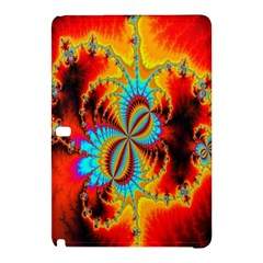 Crazy Mandelbrot Fractal Red Yellow Turquoise Samsung Galaxy Tab Pro 12.2 Hardshell Case