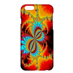Crazy Mandelbrot Fractal Red Yellow Turquoise Apple Iphone 6 Plus/6s Plus Hardshell Case by EDDArt