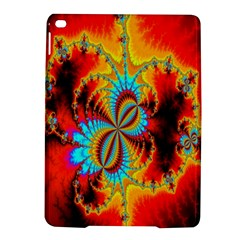 Crazy Mandelbrot Fractal Red Yellow Turquoise Ipad Air 2 Hardshell Cases by EDDArt