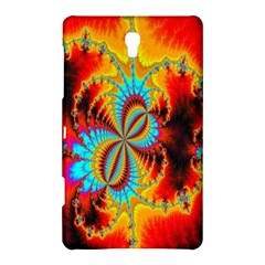 Crazy Mandelbrot Fractal Red Yellow Turquoise Samsung Galaxy Tab S (8.4 ) Hardshell Case
