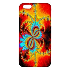 Crazy Mandelbrot Fractal Red Yellow Turquoise Iphone 6 Plus/6s Plus Tpu Case by EDDArt