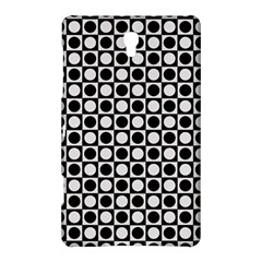 Modern Dots In Squares Mosaic Black White Samsung Galaxy Tab S (8 4 ) Hardshell Case  by EDDArt