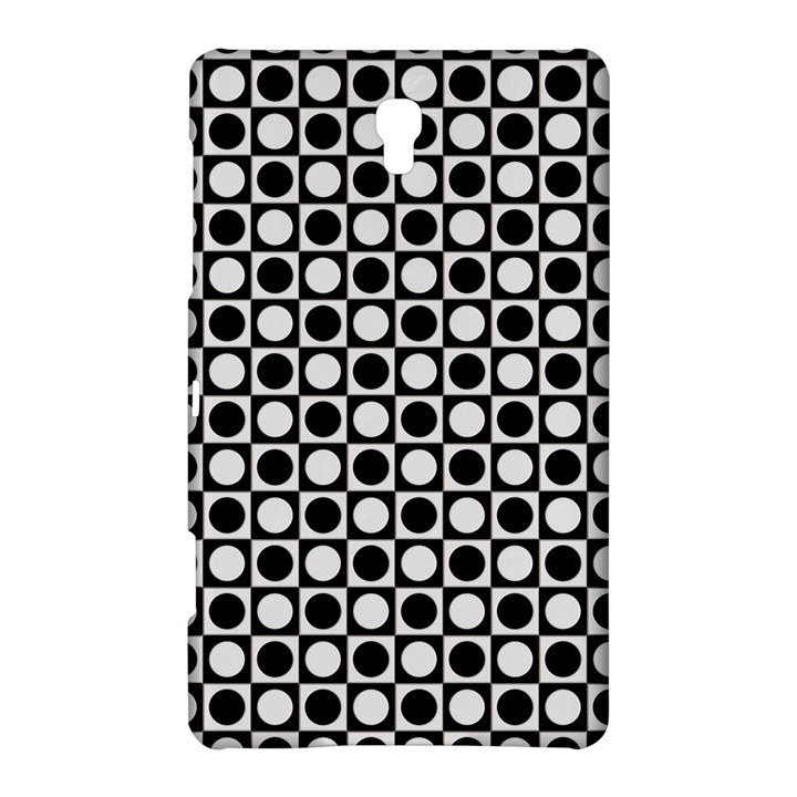 Modern Dots In Squares Mosaic Black White Samsung Galaxy Tab S (8.4 ) Hardshell Case