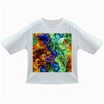 Abstract Fractal Batik Art Green Blue Brown Infant/Toddler T-Shirts