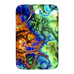Abstract Fractal Batik Art Green Blue Brown Samsung Galaxy Note 8.0 N5100 Hardshell Case