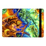 Abstract Fractal Batik Art Green Blue Brown Samsung Galaxy Tab Pro 10.1  Flip Case