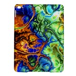 Abstract Fractal Batik Art Green Blue Brown iPad Air 2 Hardshell Cases