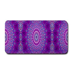 India Ornaments Mandala Pillar Blue Violet Medium Bar Mats by EDDArt