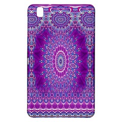 India Ornaments Mandala Pillar Blue Violet Samsung Galaxy Tab Pro 8 4 Hardshell Case by EDDArt