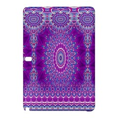 India Ornaments Mandala Pillar Blue Violet Samsung Galaxy Tab Pro 12 2 Hardshell Case